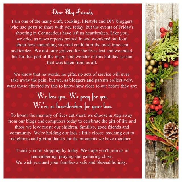 Dear Blog Friends